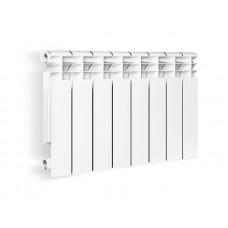 Радиатор алюминиевый Оазис 10-секционный (350/80)